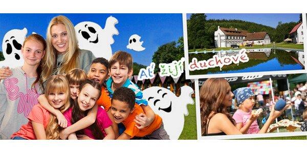 Letní tábor pro děti od 7 do 15 let