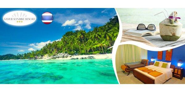Exotická dovolená na ostrově Koh Samui