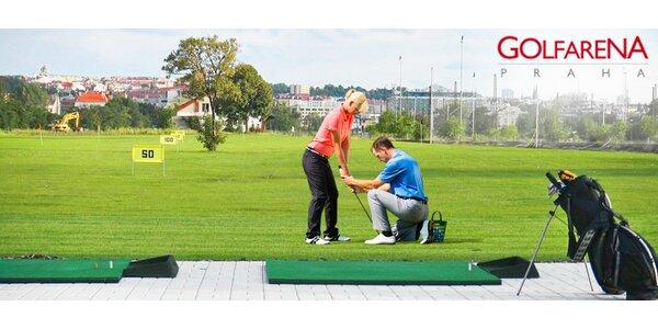 Víkendový golfový kurz pro začátečníky