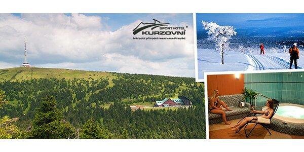 Relax v horském sporthotelu v Jeseníkách pro 2