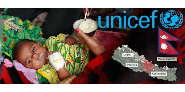 Pomoc obětem zemětřesení v Nepálu