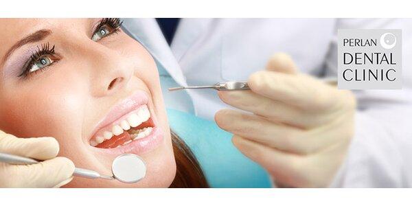 Důkladná dentální hygiena v Perlan Dental Clinic