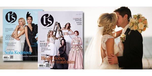 Předplatné časopisu Tvoje svatba