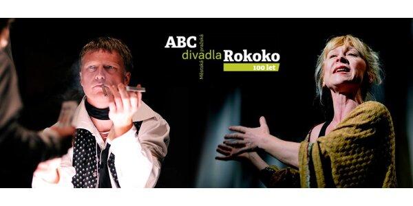Vstupenky do divadel ABC a Rokoko