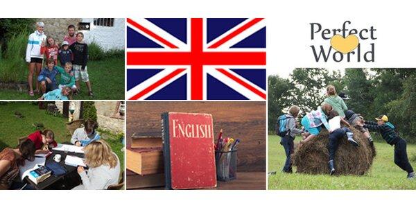 Tábor s angličtinou pro děti nebo dospělé