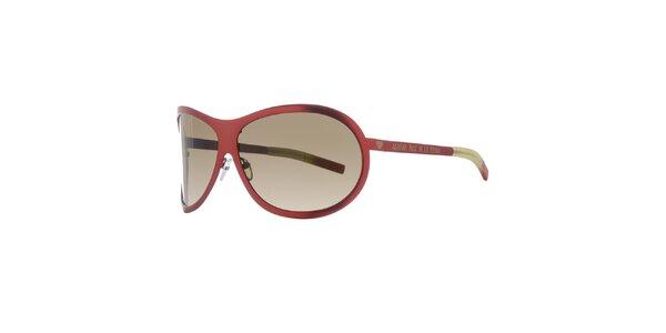 Dámské cihlově červené sluneční brýle Agatha Ruiz de la Prada