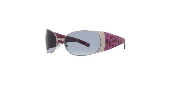 Dámské bílo-růžové sluneční brýle Agatha Ruiz de la Prada