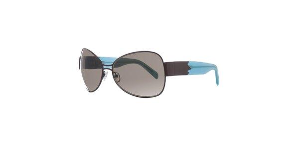 Dámské hnědo-modré sluneční brýle Agatha Ruiz de la Prada