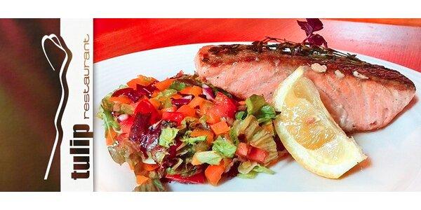 Letní lososové menu pro dva