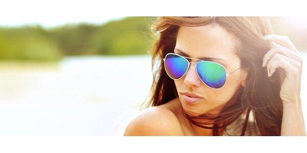 """Sluneční polarizační brýle """"pilotky"""""""