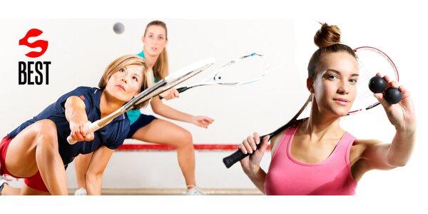 Dvě hodiny squashe za cenu jedné
