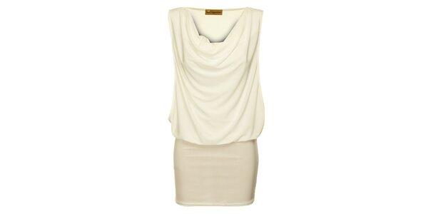 Dámské slonovinové šaty Comptoir des Parisiennes