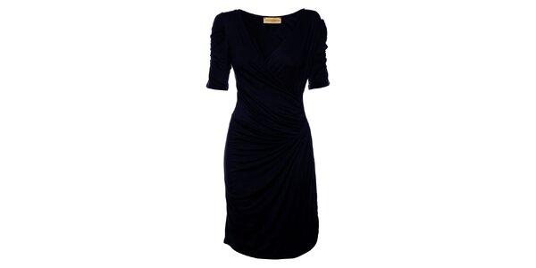 Dámské tmavě modré šaty Comptoir des Parisiennes