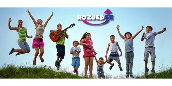 Letní dětský tábor Jeseníky - 9 dnů plných her, zábavy a dobrodružství