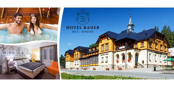 JB hotel Bauer wellness pobyt Bílá