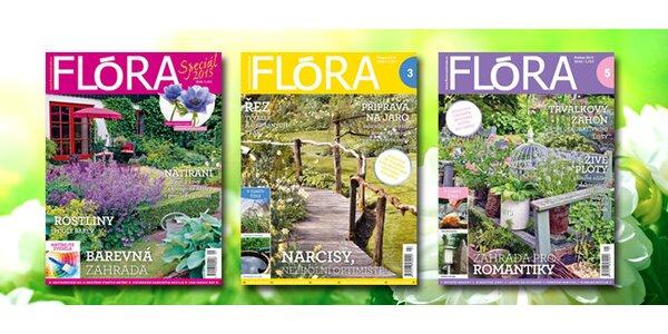 Roční předplatné časopisu Flora na zahradě