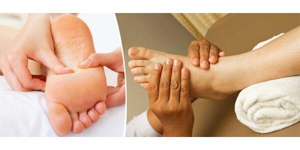 Reflexní terapie plosek nohou