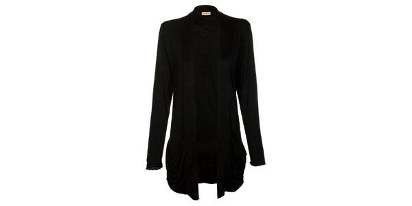 Dámský dlouhý černý kardigan Comptoir des Parisiennes