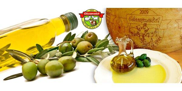 Stáčený extra panenský olivový olej