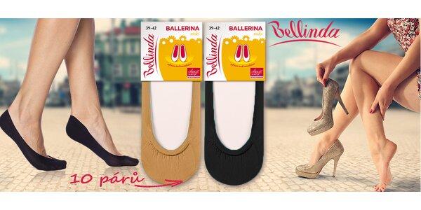 10 párů ponožek Ballerinas Meryl® Skinlife