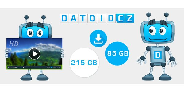 Pořádná porce GB na videa, hudbu a data z Datoid.cz