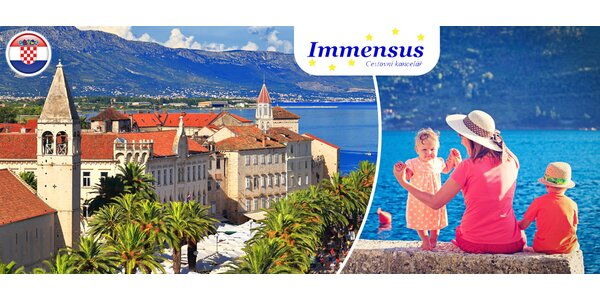 8 dní v chorvatském Trogiru s polopenzí
