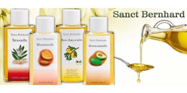 BIO přírodní oleje: arganový, mandlový, avokádový nebo sezamový
