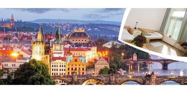Třídenní pobyt pro 2 v Praze