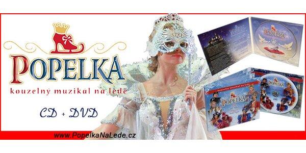 Popelka CD + DVD