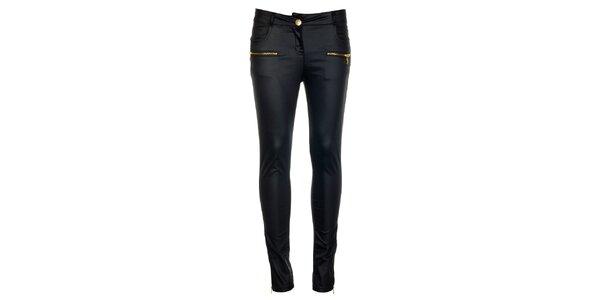 Dámské modré kalhoty Comptoir des Parisiennes