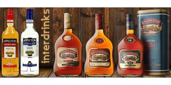 Kvalitní luxusní rumy z Jamajky