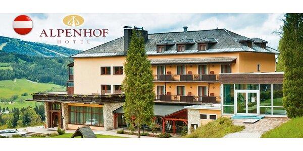 Aktivní dovolená i relax v Rakouských Alpách