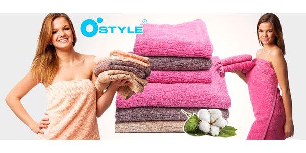 Bavlněné osušky a ručníky Interimex