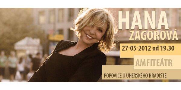 Vstupenka na koncert Hany Zagorové
