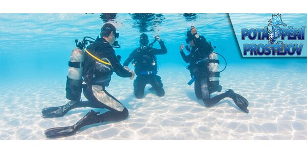 Kurzy potápění - kurz OWD včetně certifikace