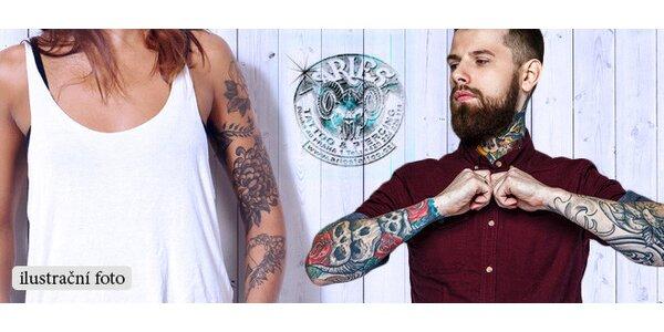 Nové tetování či jeho úprava podle vašich představ