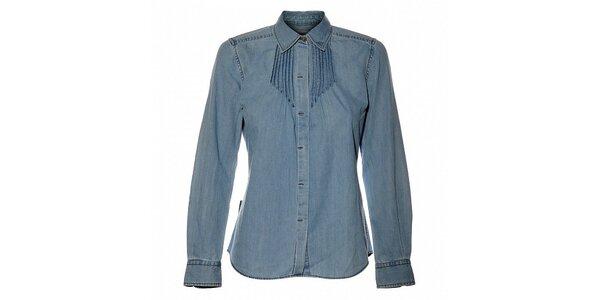 Dámská světle modrá džínová košile Bushman