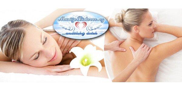 Regenerační masáž na míru