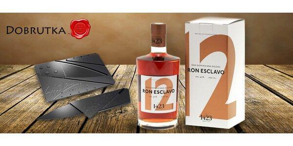 Třitinové dominikánské rumy Ron Esclavo