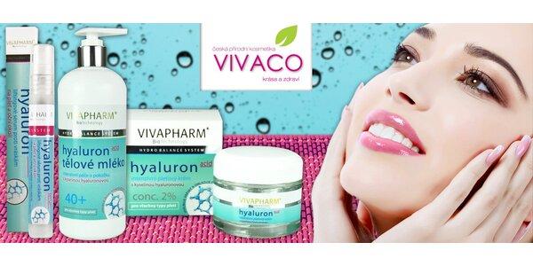 Omlazující kosmetika s kyselinou hyaluronovou