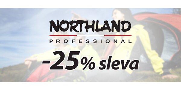 25% sleva na nákup v e-shopu Northland.cz