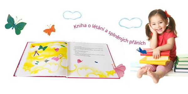 Dětská kniha o létání a splněných přáních