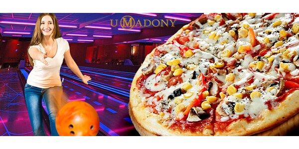 Bowling až pro 6 osob a křupavá pizza k tomu