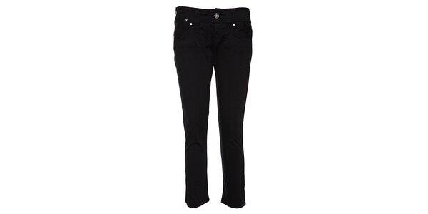 Dámskéčerné džínové 3/4 kalhoty Lois