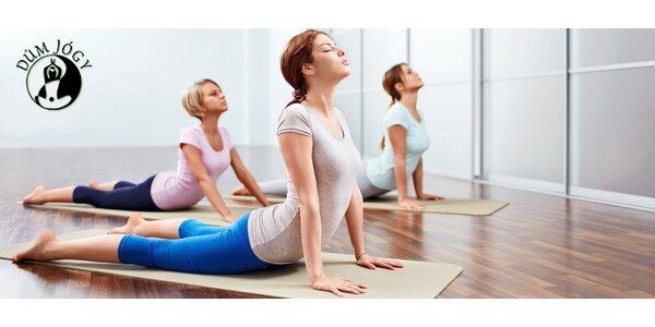 Cvičení v nově otevřeném Domu jogy na Chodově