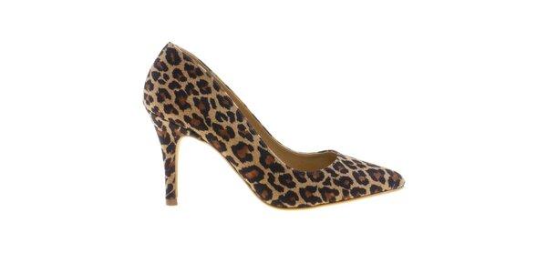 Dámské lodičky s leopardím vzorem Eva Lopez