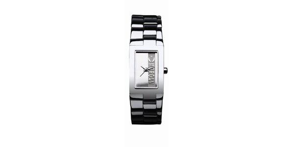 Dámské stříbrné analogové hodinky s logem Morgan De Toi
