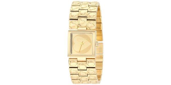 Dámské zlaté hodinky Morgan de Toi