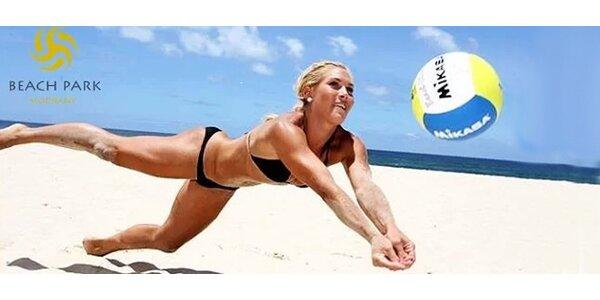 Hodina plážového volejbalu v Beach Parku Modřany