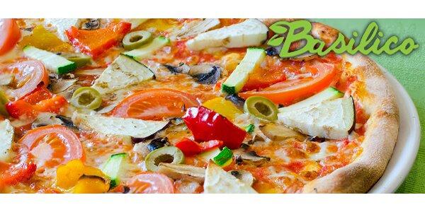 2 lahodné pizzy dle výběru